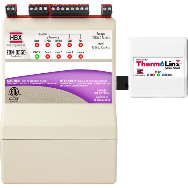 HBX WiFi Module and Zone Control ZON-0550 TMX-0100