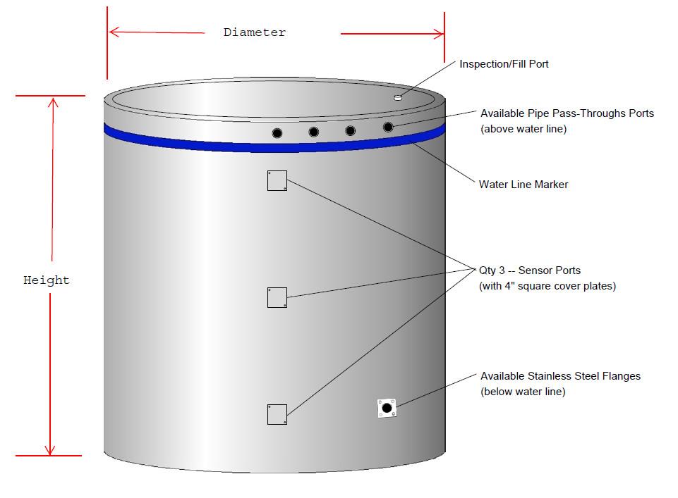 STSS solar storage tank