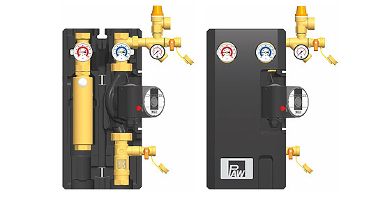 PAW FlowCon C+ pump station with controller - Residental