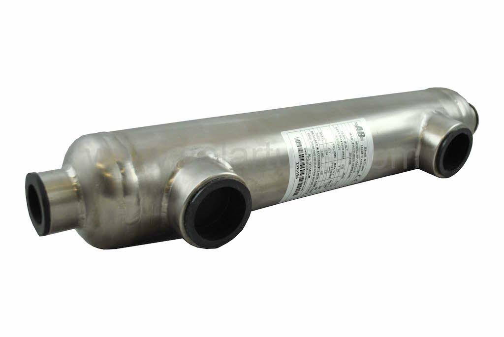 155K titanium solar pool heat exchanger