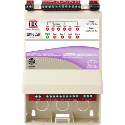 HBX ZON-0550 WiFi Enabled Zone Control