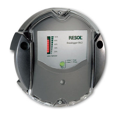 RESOL Solar Data Logger DL2 - Remote Managing Solar Heater