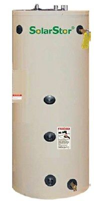 Solar GeoThermal Water Storage Tank- SolarStor 80 gallon SCE - Single Exchanger