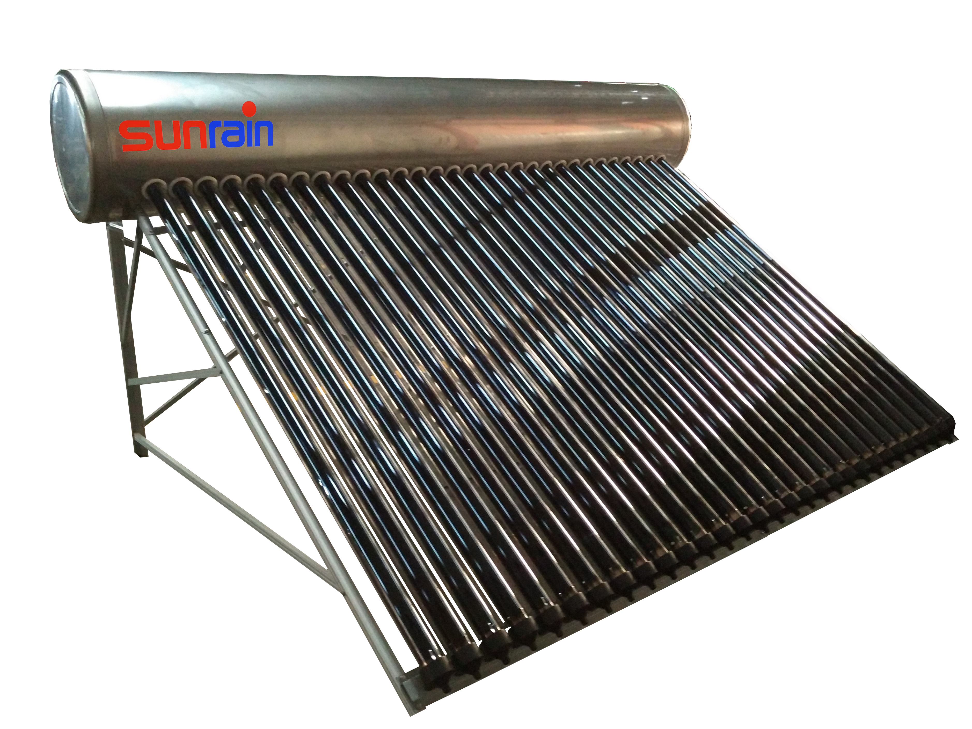 Stainless Steel Compact Solar Hot Water Heater- 80 Gallon solar hot water tank