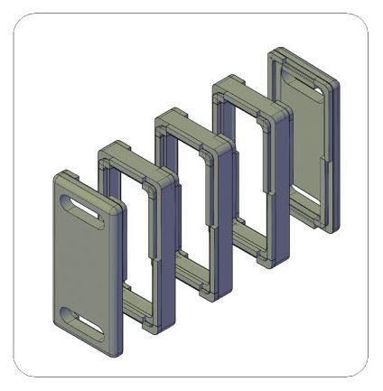 Baode flate plate heat exchanger insulation