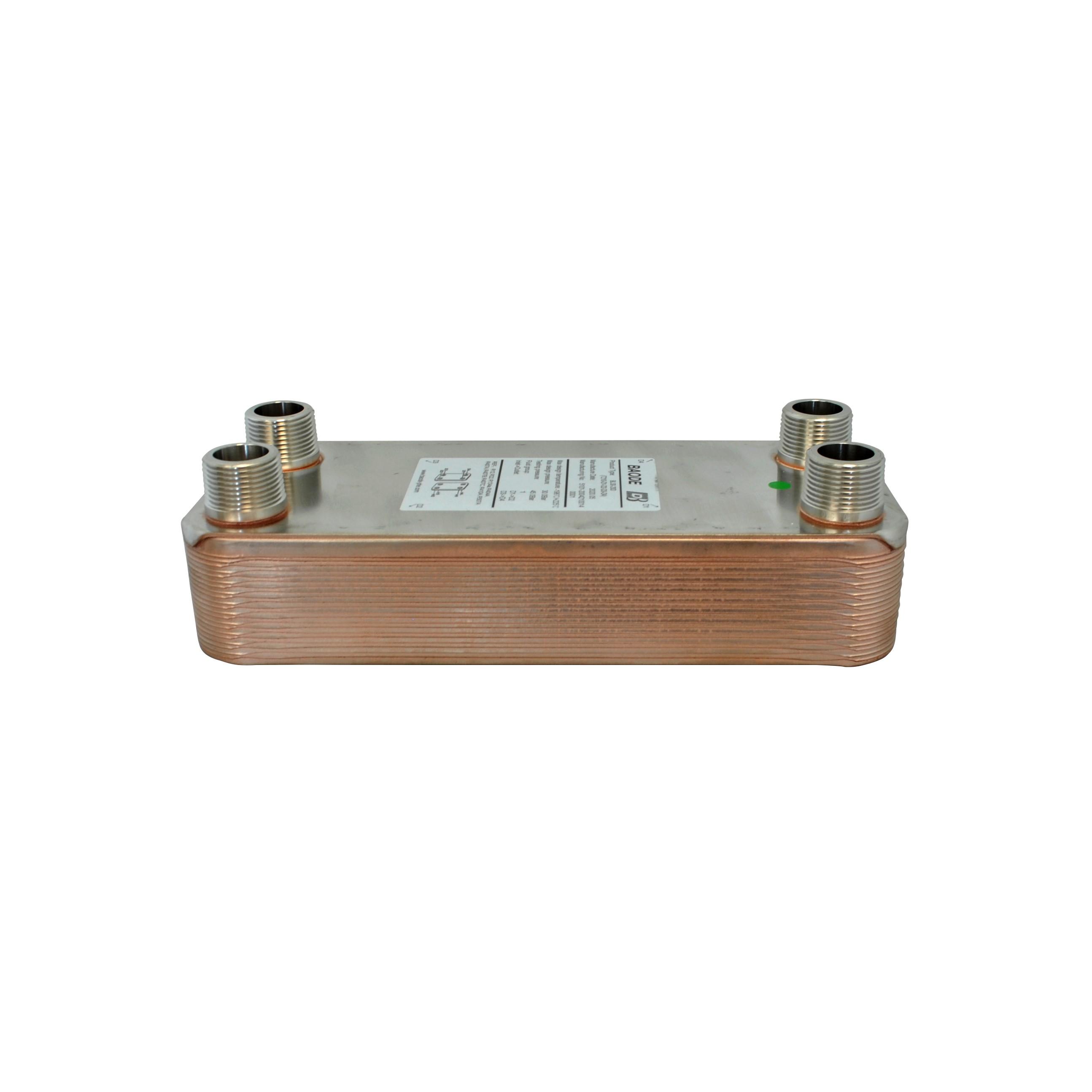 Baode BL26C flat plate heat exchanger 20 plate
