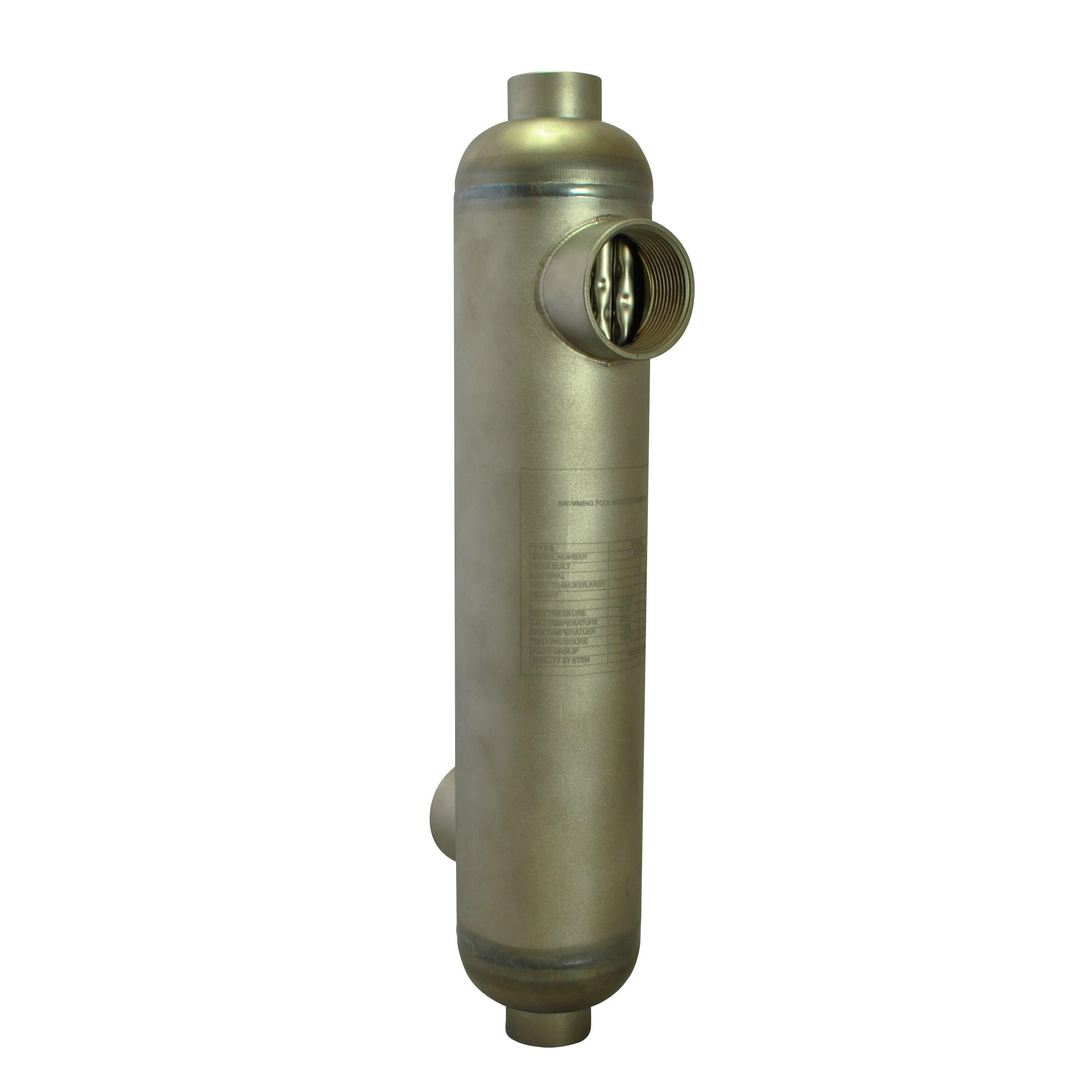 Bluepool ST45T heat exchanger