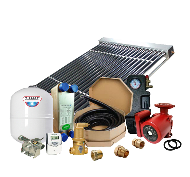 Solar Hot Water Retrofit Kit - 1 Collector