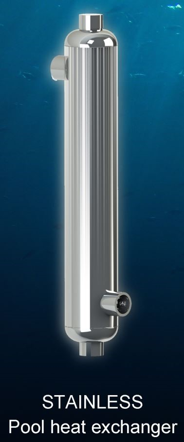 Bluepool Stainless heat exchanger