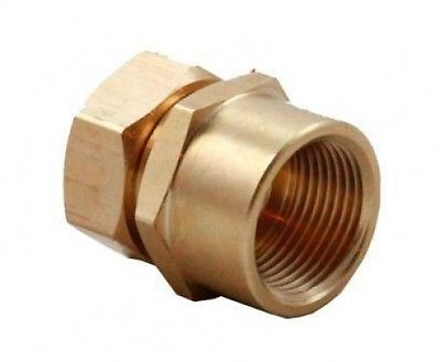 "Solar Pipe Fitting -Aurora 3/4"" to 3/4\""- FPT Adapter"