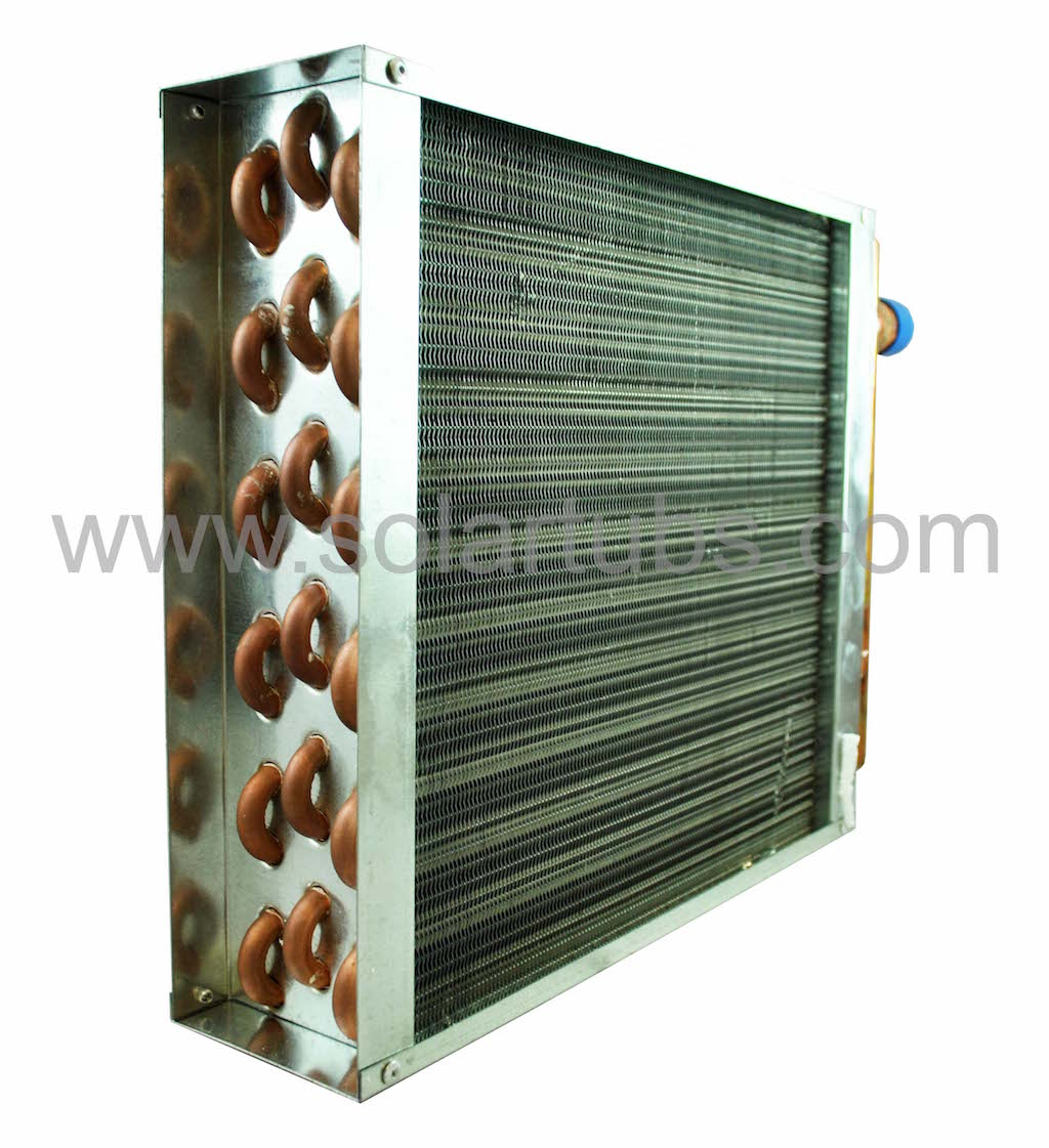 Air Heat Exchanger ~ Solar air heat exchanger