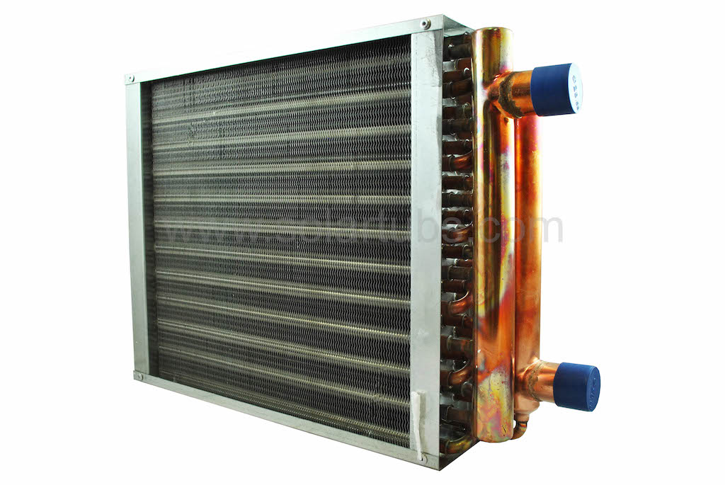 Solar Air to Liquid heat exchanger