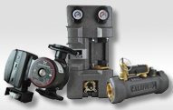 SolarPumps & Valves Hi temperature solar pumps and electronic switching valves for zone – ECM Motors for energy savings.