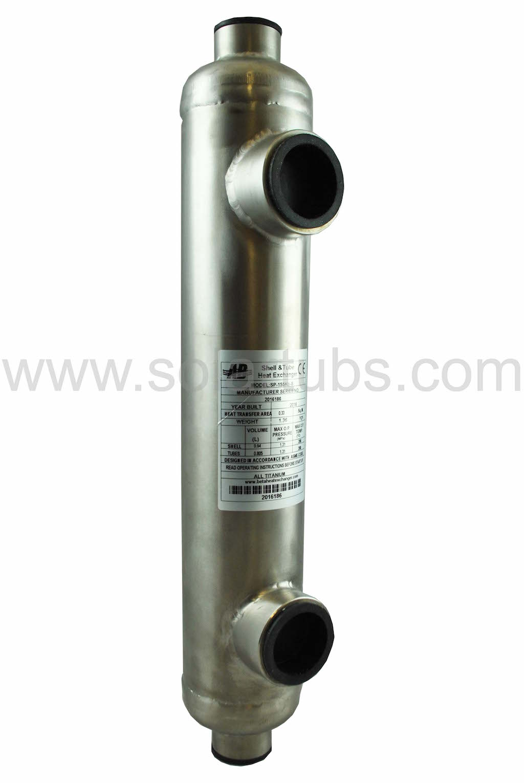 Titanium 155 heat exchanger